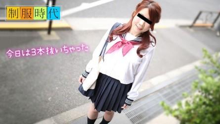10mu-050119_01 School Uniform: Jerking Off For You