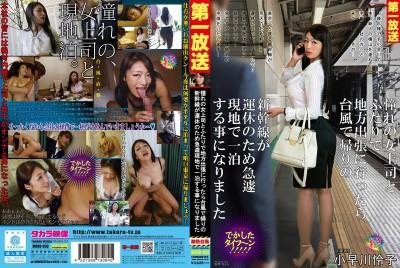 MOND-050 颱風害列車停班只好和上司一起住旅館 小早川怜子