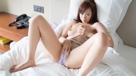 S-CUTE-365_RYOUKA_04 うっとり表情で豊満なオッパイを揉みまくるオナニー/Ryouka
