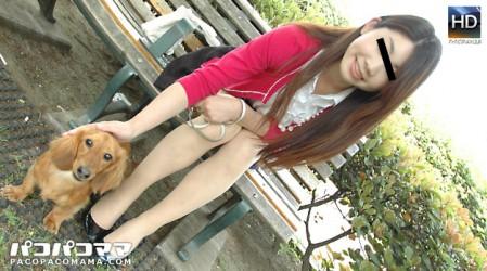 Paco-072311_421 白咲奈那子 男より犬を愛しすぎて結婚できない美熟女